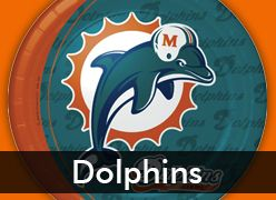 Miami Dolphins Party Supplies