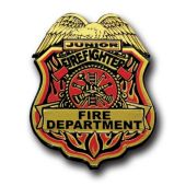 Firefighter Junior Badges-12 Pack