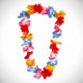 "Silk Flower Leis-38"" - 12 Pack"