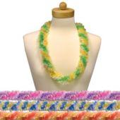 Tie Dye Plastic Leis-12 Pack