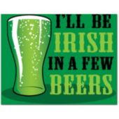 Irish Beer Beverage Napkins - 18 Pack