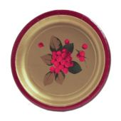 "Poinsettia Elegance 7"" Plates"