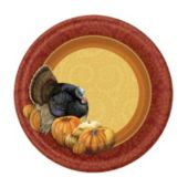 "thanksgiving Harvest 7"" Plates"