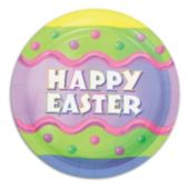 Happy Easter Plates - 7 Inch, 8 Pack