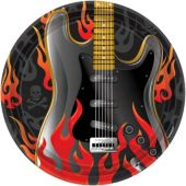 "Rock On 10 ½"" Plates – 8 Pack"