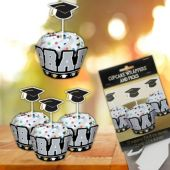 Graduation Cupcake Decoration Kit