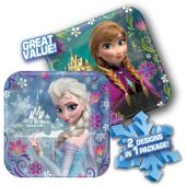 Disney's Frozen Paper Plates – 7 Inch, 8 Pack