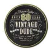Vintage Dude 60 Years – 7 Inch, 8 Pack