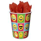 Emoji Cups -9oz - 8 Per Unit