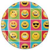 "Emoji Plates - 8 3/4"" - 8 Per Unit"