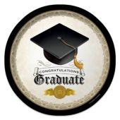 """Congratulations Graduate Plates - 8 3/4"""" - 8 Per Unit"""