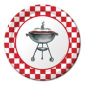 Classic Grilling 7 Inch Plates - 8 Pack