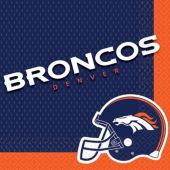 Denver Broncos Lunch Napkins – 16 Pack