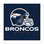 Denver Broncos Lunch Napkins – 16 Per Unit