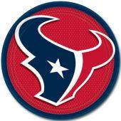 "Houston Texans 9"" Plates – 8 Pack"