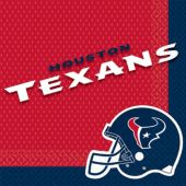Houston Texans Lunch Napkins – 16 Pack
