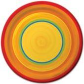 Fiesta Ablaze 8 3/4 Inch Plates - 8 Pack