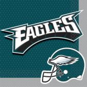 Philadelphia Eagles Lunch Napkins – 16 Pack