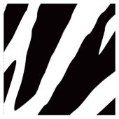 Zebra Print Beverage Napkins