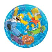 "The Simpsons 7"" Paper Plates - 8 Pack"