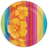 "Aloha Summer 8 3/4"" Plates - 8 Pack"