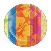 "Aloha Summer 7"" Plates - 8 Per Unit"