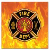 Firefighter Watch Beverage Napkins – 16 Pack