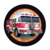 "Firefighter Watch 7"" Plates –  8 Pack"