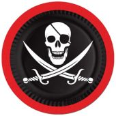 "Pirate Party 7"" Plates - 8 Pack"