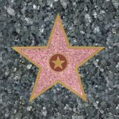Walk of Fame Star     Lunch Napkins-16 Pack