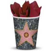 Walk of Fame Star     9oz Cups-8 Pack