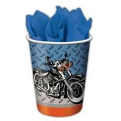 Motorcycle Cups - 9oz - 8 Per Unit