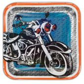 "Motorcycle Plates - 9"" - 8 Per Unit"