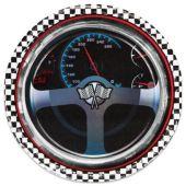 """Car Racing Plates - 8 3/4"""" - 8 Per Unit"""