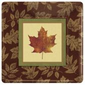 "Fall Elegance 10"" Plates - 8 Pack"