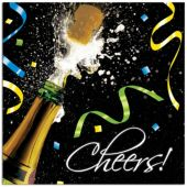 New Year Cheers Lunch Napkins – 18 Per Unit
