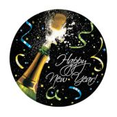 "New Year Cheers 7"" Plates"