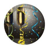 "New Year Cheers 7"" Plates - 8 Pack"