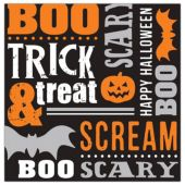 Trick or Treat Lunch Napkins - 16 Per Pack
