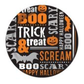 "Trick or Treat Plates - 7"" - 8 Per Unit"