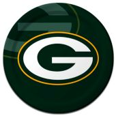 "Green Bay Packers Plates-9"" - 8 Pack"