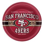 "San Francisco 49ers NFL 9"" Paper Plates - 8 Pack"