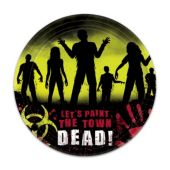 "Zombie Plates-7""-18 Pack"