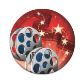 "Hollywood Lights Plates - 7"" - 8 Per Unit"