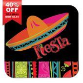 "Fiesta Fabulous 7"" Plates - 8 Pack"
