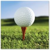 Golf Ball Lunch Napkins – 16 Pack