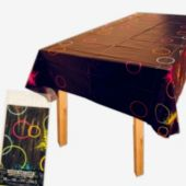 Glow Party Plastic Table Cover