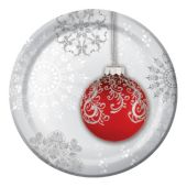 "Jingle Bells 7"" Plates"