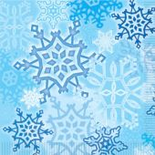 Snowflake Beverage Napkins -   16 Per Unit