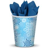 Snowflake Cups-9oz-8 Per Unit